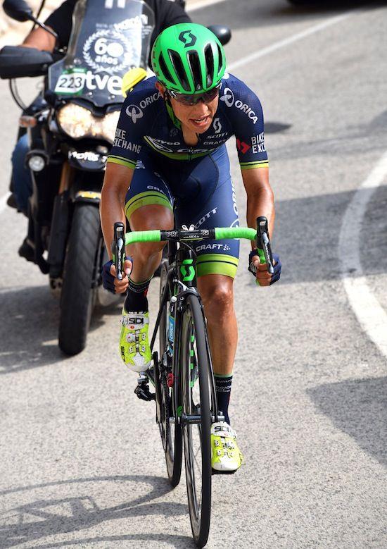 Vuelta a España 2016 Stage 20 Esteban Chavez
