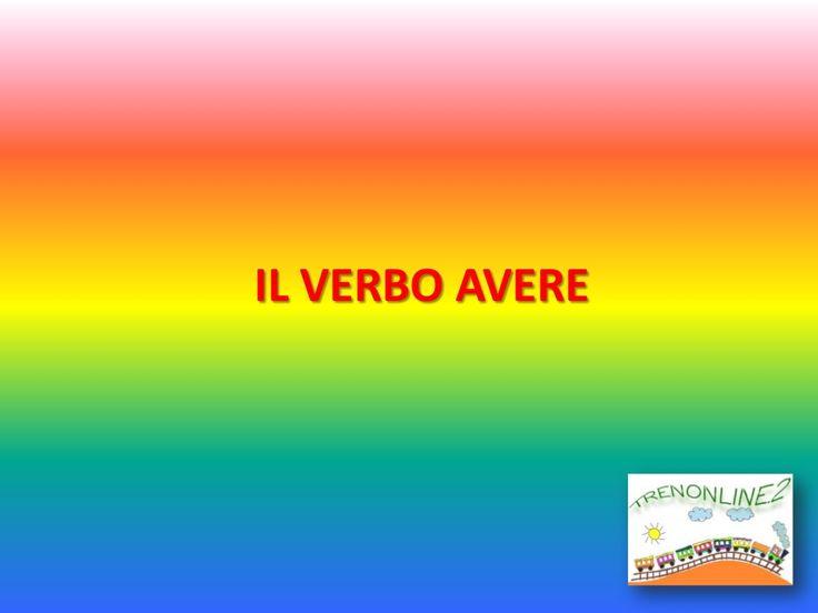 VERBO AVERE by Maestra Diana via slideshare