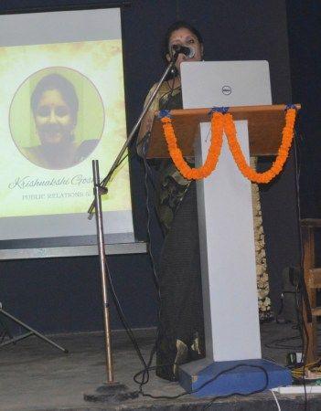 Krishnakshi Goswami on 'Creative Industry'