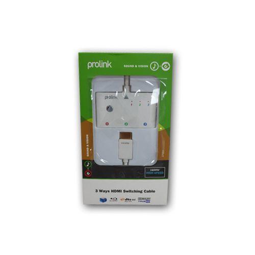 PROLİNK HDMI SWITCH 3GİRİŞ 1 ÇIKIŞ (MP-201) - 75.42 TL + KDV Ücretsiz Kargo Ve Taksit Avantajları ile www.dijitalburada.com'da