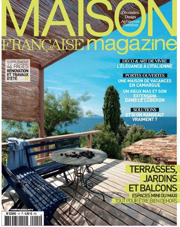 A l'ombre sous la tonnelle on s'inspire profondément grâce ) Maison Française Magazine