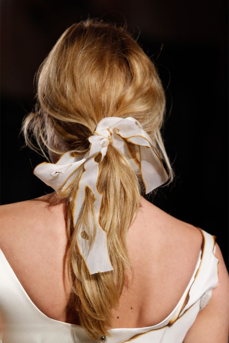 Giles Fall 2012 ( hairstyle )