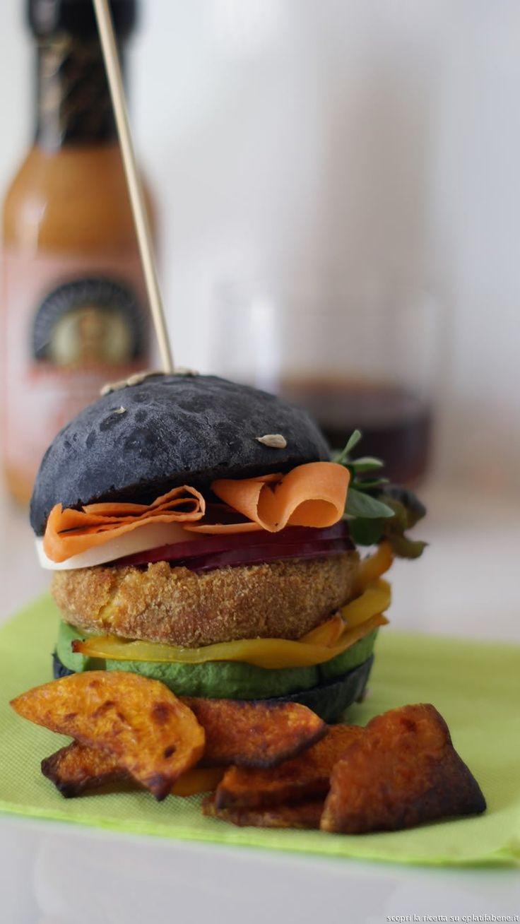 Oltre 25 fantastiche idee su Hamburger vegetariani su Pinterest ...