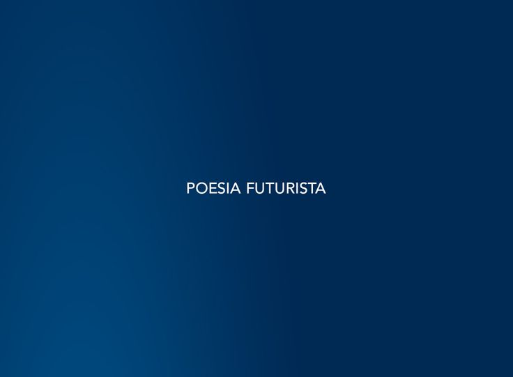 Poesia futurista #Barilla