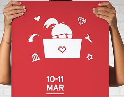"""Check out new work on my @Behance portfolio: """"Rails Girls Athens 2017"""" http://be.net/gallery/52583881/Rails-Girls-Athens-2017"""