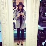 Check my new #fedora #hat and #coat from #glasons