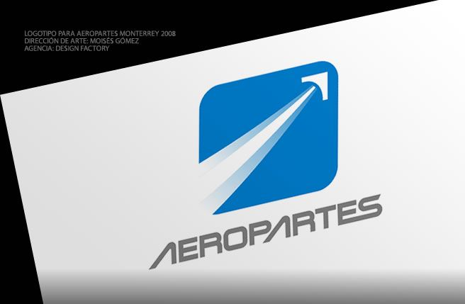 Diseño de Logotipo para Aeropartes - Diseño de Logotipos