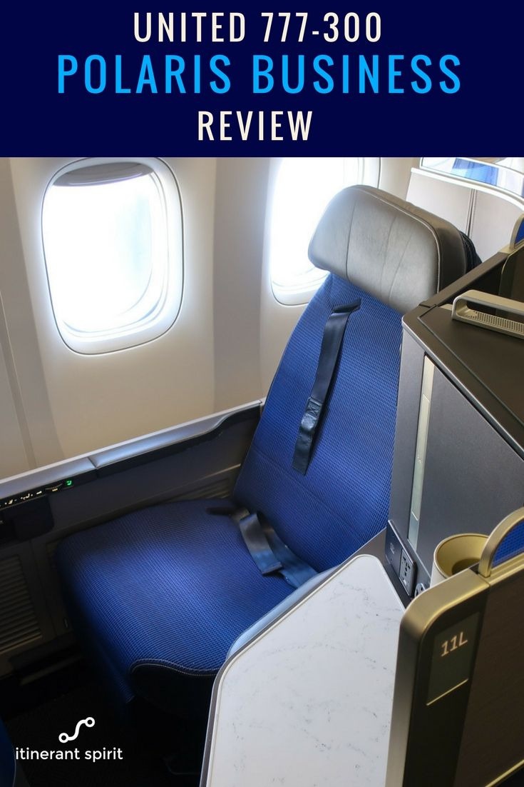 United Airlines Polaris Business Class Review 777-300 - Itinerant Spirit Blog