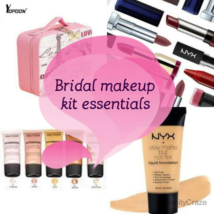 Bridal Makeup Kit Essentials 2017 - Everything you need in your vanity !!