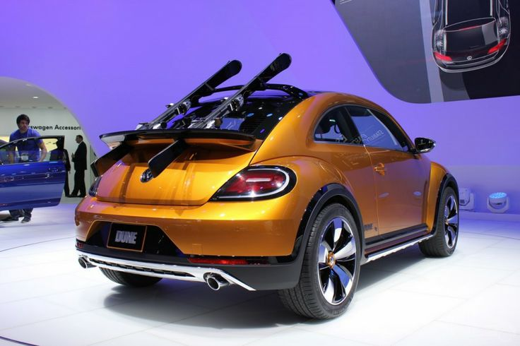 The Beetle Dune Concept w/built in ski rack!
