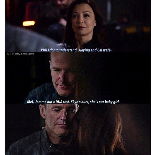 "Anyone else still believing in the Philinda family #TotallyShieldAU >< Sorry for the lack of edits, I have so much homework and tests to revise for  >< @mingna_wen @clarkgregg >< Quote Of The Day - ""You were born an original, don't die a copy"""