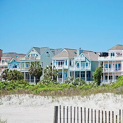 Isle of Palms- Splendidly isolated from the South Carolina mainland, life on this barrier island offers the perfect mix of proximity to Charleston and a carefree lifestyle. Coastalliving.com