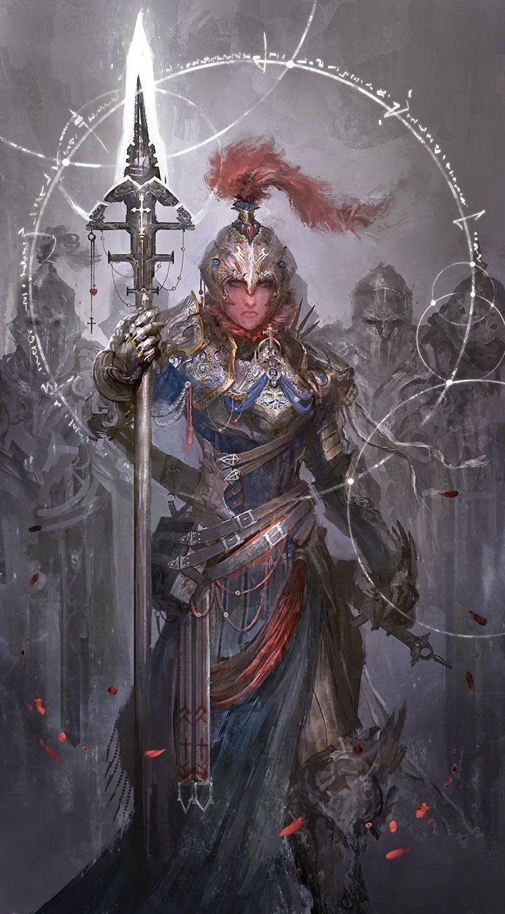 A Quarta Lançeira- Joana D'arc Pode invocar uma legião de soldados feitos de alguma joia brilhosa liberada por Joana. O numero máximo de soldados é 10.000, e todos tem atributos sobre-humanos
