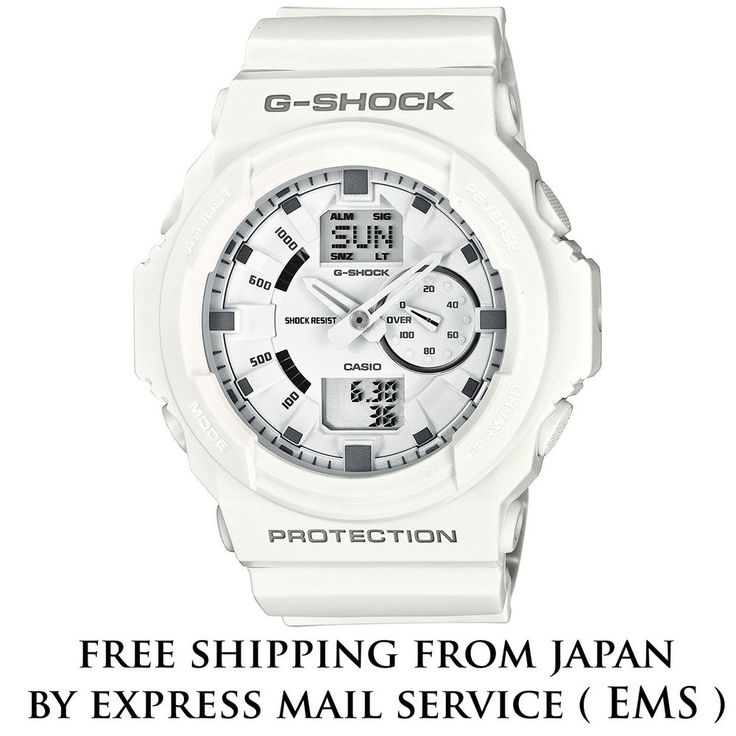 CASIO G-SHOCK WHITE GA-150-7AJF AUTHENTIC MEN'S WATCH FREE SHIPPING FROM JAPAN #CASIO