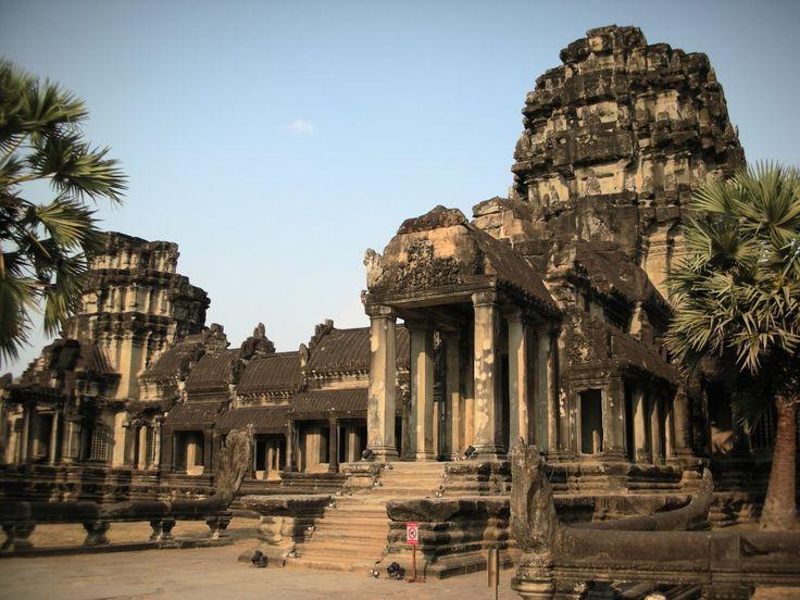 cambodja, tempels