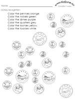 all kinds of canadian money worksheets
