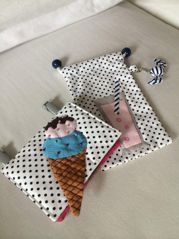 ティッシュケース付き移動ポケットとサングラスポーチ|ハンドメイド、手作り、手仕事品の通販・販売・購入ならCreema。