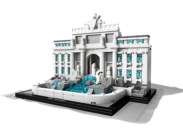 Recreate a truly iconic landmark of Rome – the Trevi Fountain!