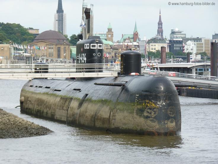 U-Boot 434 - Hamburg Sehenswürdigkeiten Top 10 http://www.hamburg-fotos-bilder.de/