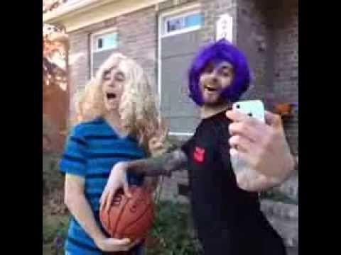 How guys play basketball vs How girls play basketball - VINE  nash grier