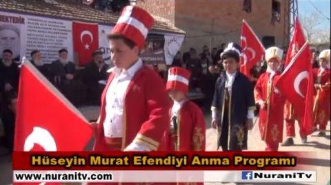 Hüseyin Murat Efendiyi Anma Programı Çankırı   Nurani Radyo Tv izle dinle Halveti uşşaki Fatih Nesli