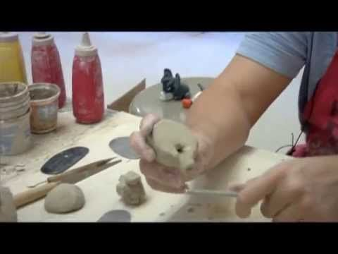 Step directions on how to make a clay whistle. I use this video for my High School ceramic class