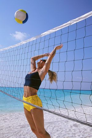 I am hoping to get a fun sand Volleyball league together again this summer... but closer to home this time.  (BOOMERS?)