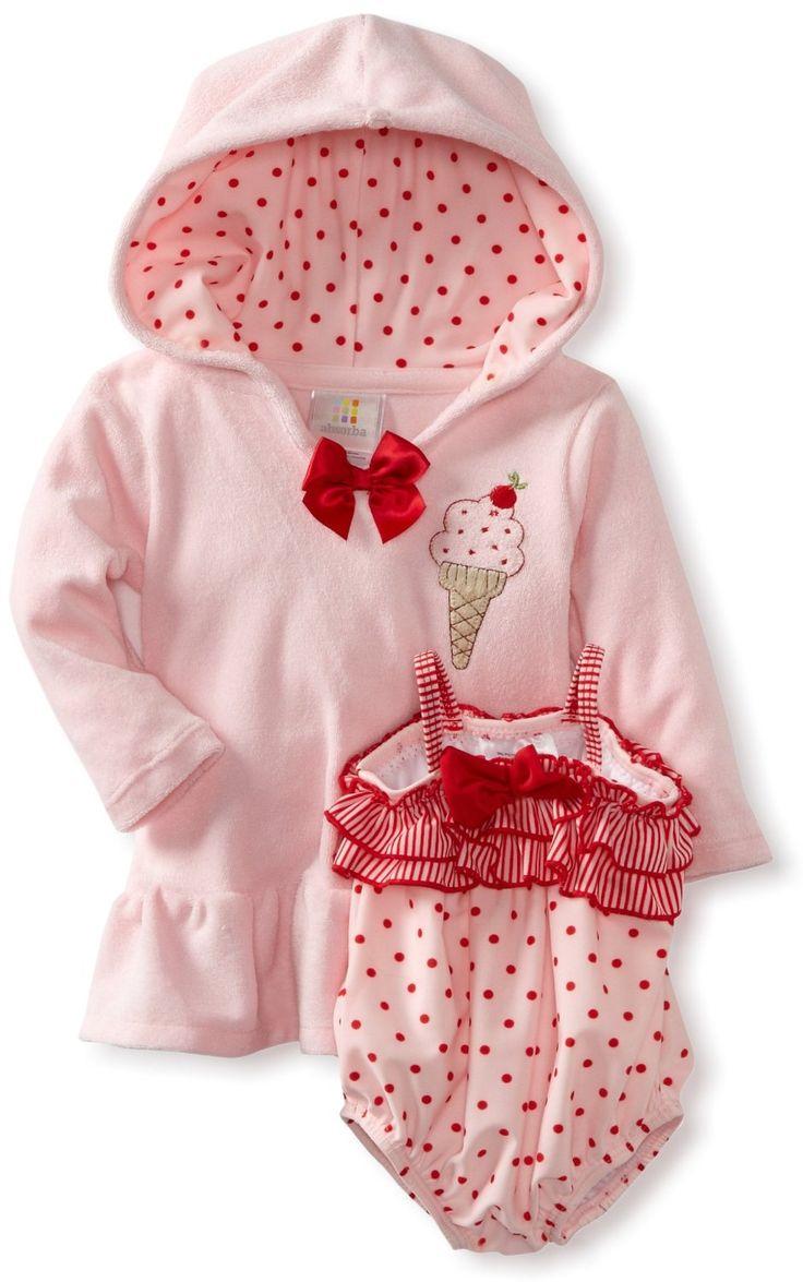 Infant Baby Girl Swimsuit