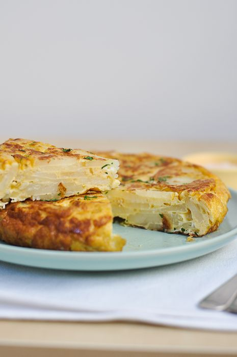 How To Make Tortilla Española (Spanish Potato Omelette) One of my most favorite dishes from Spain! I can finally recreate:)
