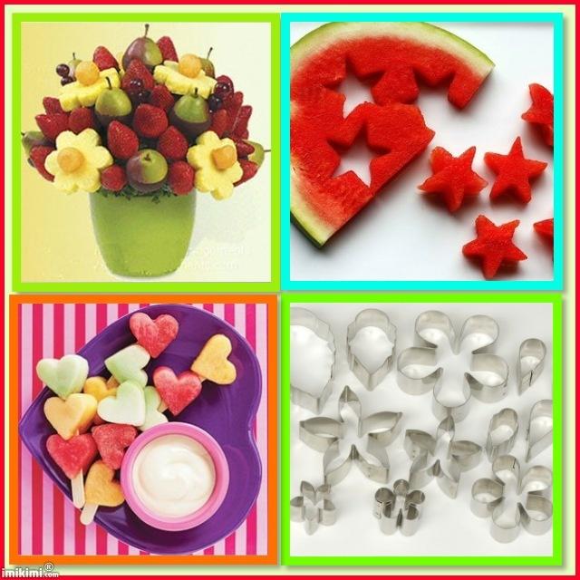 Cookie Cutter Fruit Bouquet