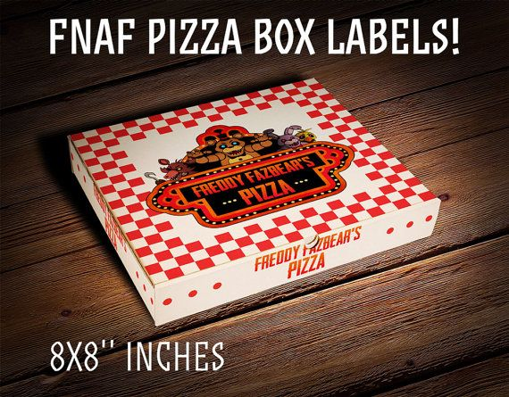 Hey, I found this really awesome Etsy listing at https://www.etsy.com/listing/250303456/five-nights-at-freddys-pizza-box-labels