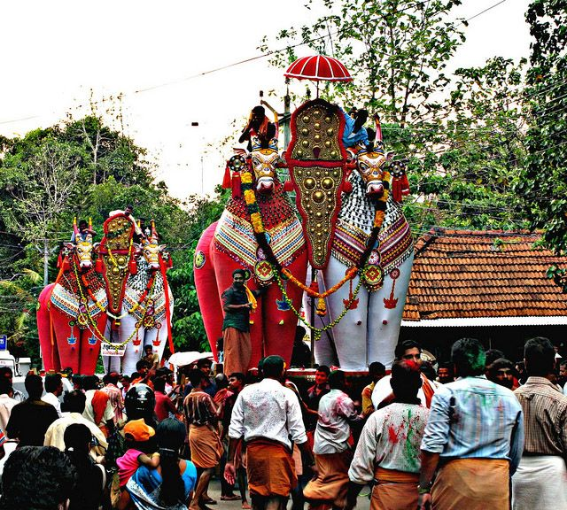 The Festivals of Kerala transcend the level of mere entertainment. They are inherited from an age-old tradition that exudes the essence of the State.