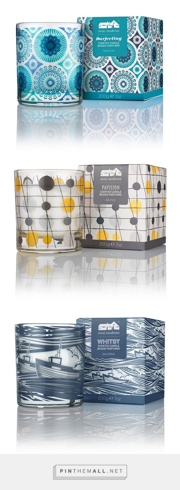 Mini Moderns Home Fragrance - Packaging of the World - Creative Package Design…