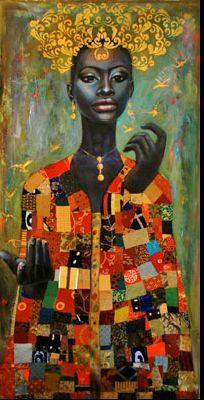 By Tamara Natalie Madden. Linda arte africana!