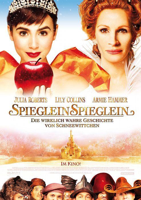 Poster zum Film: Spieglein Spieglein - Die wirklich wahre Geschichte von Schneewittchen