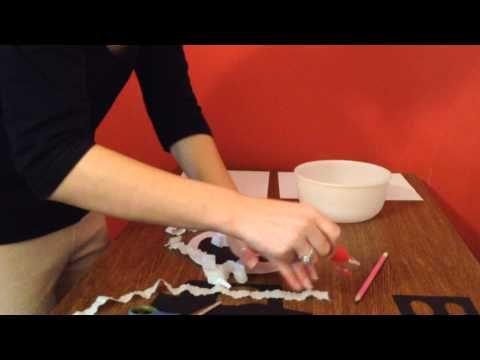 Vyrábíme - Papírového ducha - YouTube
