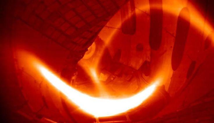 Ignición del plasma en el Wendelstein 7-X. Foto: Instituto Max Plank de Física del Plasma