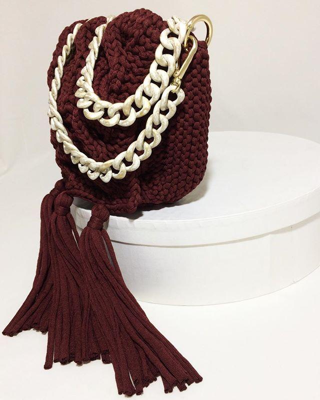 Новая сумочка актуального коньячного цвета выполнена на заказ и уже радует свою красавицу хозяйку
