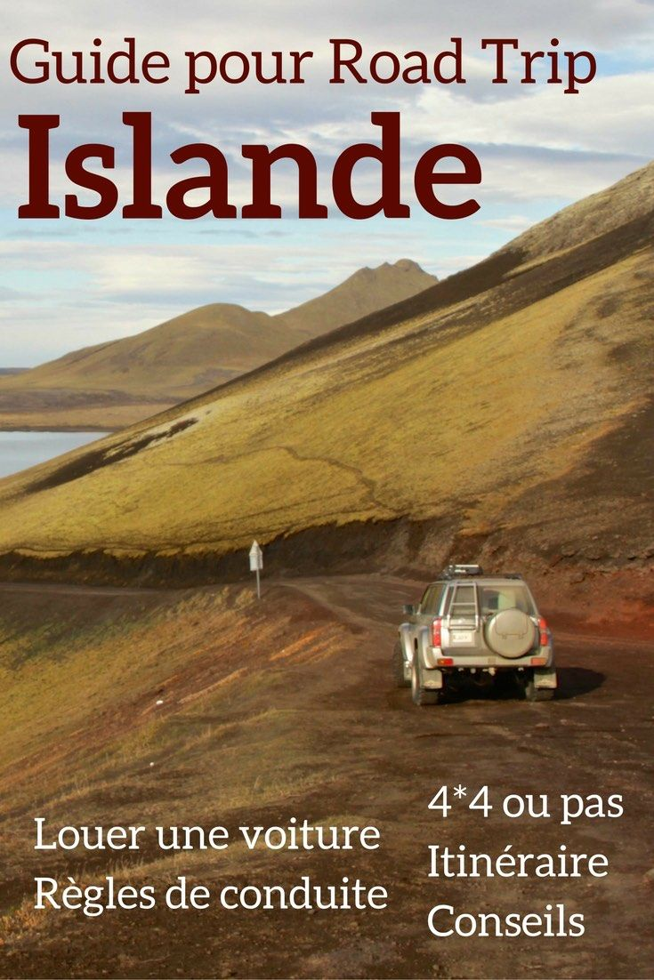 Preparer votre Road Trip Islande avec ces conseils pour - Louer une voiture en Islande - Planifier son itinéraire - Conduire en Islande. Il n'y a plus qu'à voyager en Islande et admirer les beaux paysages d'Islande !