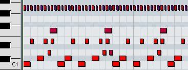 2step drum pattern
