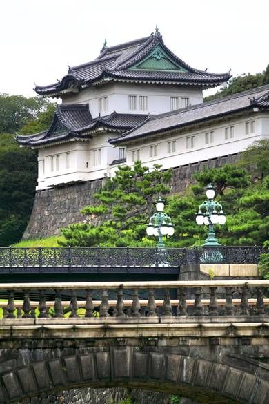 Imperial Palace, Tokyo. Once an Edo Castle and a residence for samurai warriors, Tokyo's Imperial Palace is the official residence of the Emperor of Japan. Visitors can tour its gardens throughout the year,