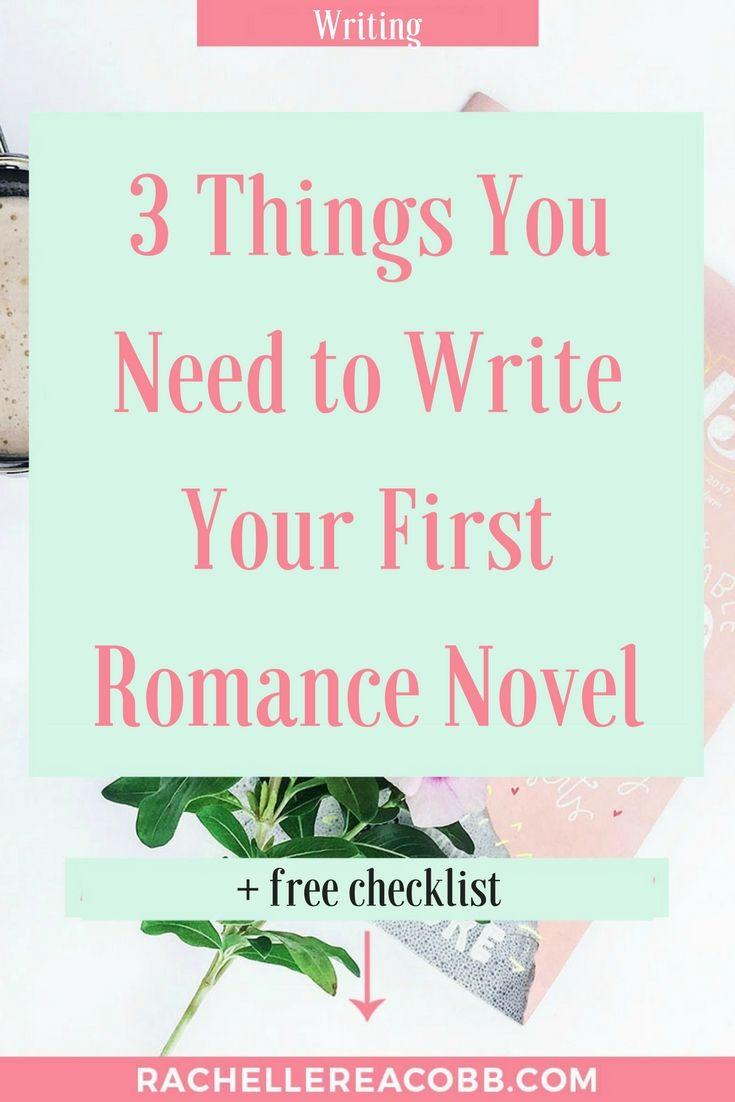 how to start writing a romance novel