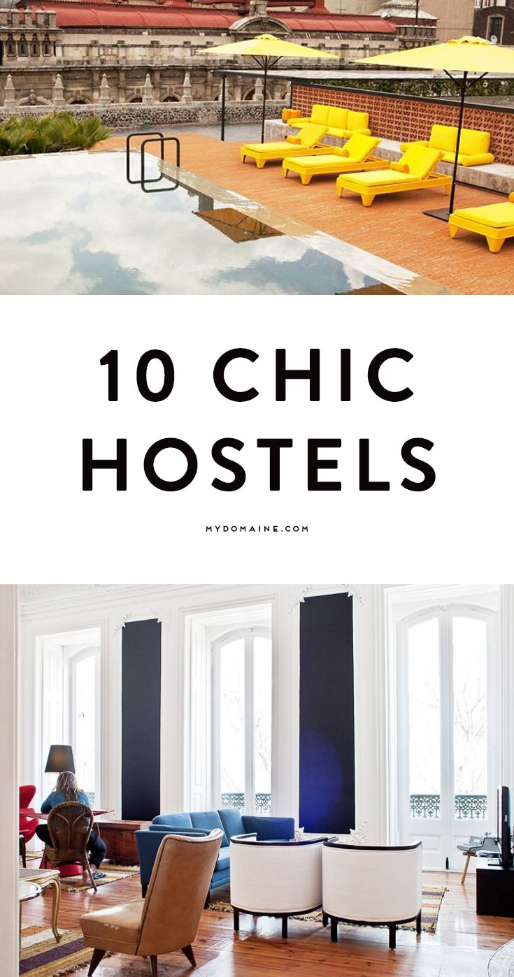 10 stylish hostels you probably didn't know about