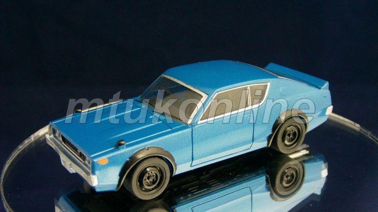 TAKARA SILHOUETTE 5 NISSAN SKYLINE GT-R 1973   C110   1/64   BLUE METALLIC