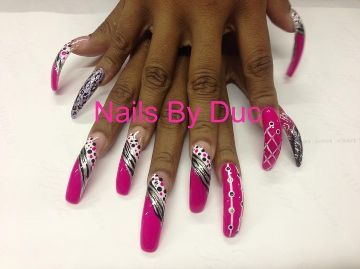Long Nails Designs | Graham Reid