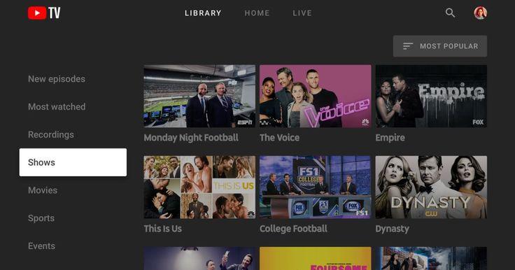 YouTube TV app arrives for newer Samsung smart TVs