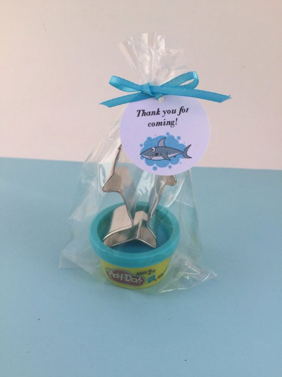 These cute little shark favors are perfect for a ocean, shark or under the sea party.  Each play doh sets come with a mix of play doh colors.  Please select the quantity you would like from the drop down menu - you may need to do a combination of quantities to get the right number. If you cant get to the quantity you would like then please click the Request Custom Order link beneath the picture and we can create a custom order for you. Take a look at our other under the sea party supplies…