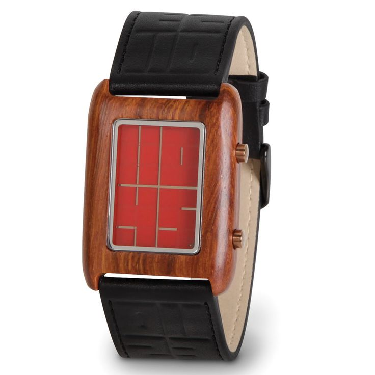 The Negative Space Watch - Hammacher Schlemmer