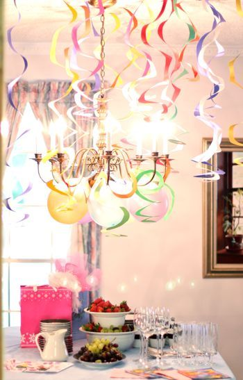 Spiral Streamers Diy Party Decor Holidays