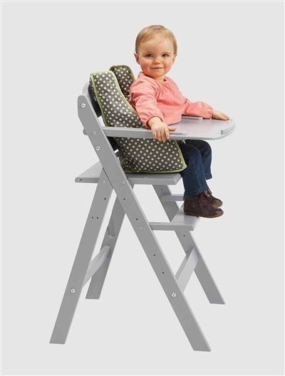 Progressive Wooden High Chair Grey                                                                                                                                                     More